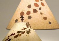 real leaf shades in aspen or oak Cabin Lamp Shades