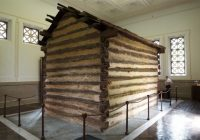 remembering lincolns birthplace Abraham Lincoln Cabin