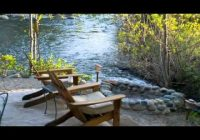 riverfront vacation rental three rivers ca Three Rivers Cabins