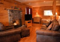 romantic log cabin with jacuzzi fireplace and private Romantic Log Cabin Getaways With Hot Tub