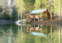 romantic secluded cabin for two muddy pond Lake Cabin Tennessee