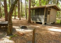 rustic cabins at hontoon state park provide a more camping Florida Camping Cabins