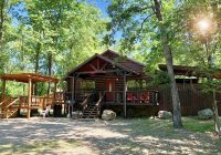secluded cabin rental in beavers bend oklahoma near broken Beavers Bend Oklahoma Cabins