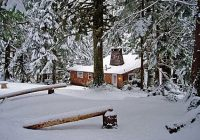 secluded cabin rental riverfront vacation lodging wa Stevens Pass Cabins