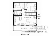 simple vacation house plans small cabin plans lake or mountain Small 2 Floor Cabin