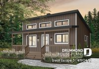 simple vacation house plans small cabin plans lake or mountain Small Cabin Cottage Plans