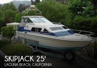 skipjack 25 cabin cruiser 1983 used boat for sale in laguna beach california boatdealersca Cabin Cruisers