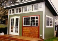 slant roof custom shed a simple solution for your property Slant Roof Cabin With Loft
