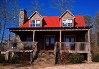 small 3 bedroom lake cabin with open and screened porch Small Lake Cabin