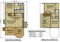small cabin floor plan 3 bedroom cabin max fulbright Lake Cabin Home Plans