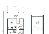small cabin floor plans Small Cabin Plans With Loft Free