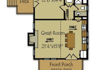 small cabin plan with loft small cabin house plans Cabin House Floorplans