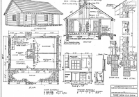 small cabin plans Small Cabin Floor Plans