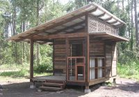 small cabin with a slanted roof oliver in 2021 pallet Slant Roof Cabin With Loft