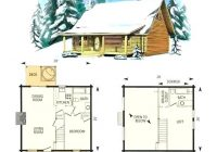 small cabin with loft floor plans hybridmediasl Cabin With Loft Plans