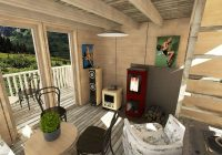 small cottage plans with loft frances Small Cabin Plans With Loft And Porch