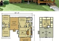 small floor plans cabins dog trot house plan lake cabin Lake Cabin Ideas
