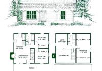 small home plans with loft arsyilco Small Cabin Plans With Loft Free