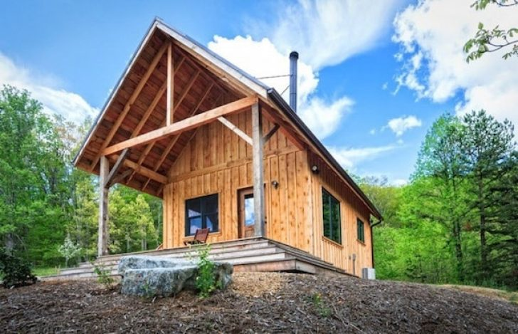 Permalink to Timber Frame Small Cabin/  Ideas