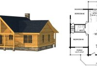 small log homes kits southland log homes Small Cabin Floor Plans