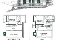 small two bedroom cabin plans athayaideasco Two Story Cabin Plans