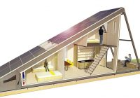 solar cabin modular refugee housing with an energy Solar Cabin