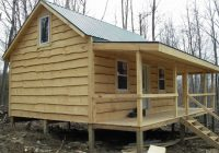 some pics of my 16 x 24 shack small cabin forum 1 Small Cabin Ideas