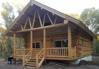 spacious amish built log cabin in the woods antonito Amish Log Cabins