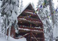 stevens lodge saturday night 126 block party the mountaineers Stevens Pass Cabins