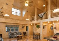 stylish log cabin interiors cabin interior designs ideas Small Cabins With Loft