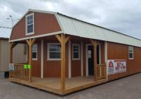 the beeville news 250959 16×40 deluxe lofted barn cabin 16×40 Deluxe Lofted Barn Cabin