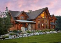 the characteristics that define a log home Cabin Houses