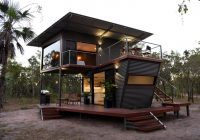 the litchfield container cabin blends nature with minimalist Cabin Container House