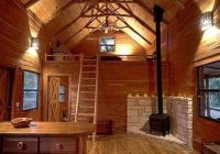 the wood burning stove and central heat warm up the cabin Wood Burning Stoves Cabin