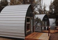 these tiny homes look amazing and cost just 1300 Arched Cabins
