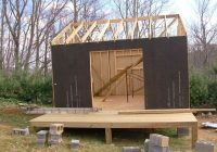 they built a mortgage free small house for 5900 building Build Small Cabin Images