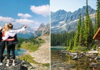 this cabin in british columbia comes with lake views in the Lake O'Hara Cabins