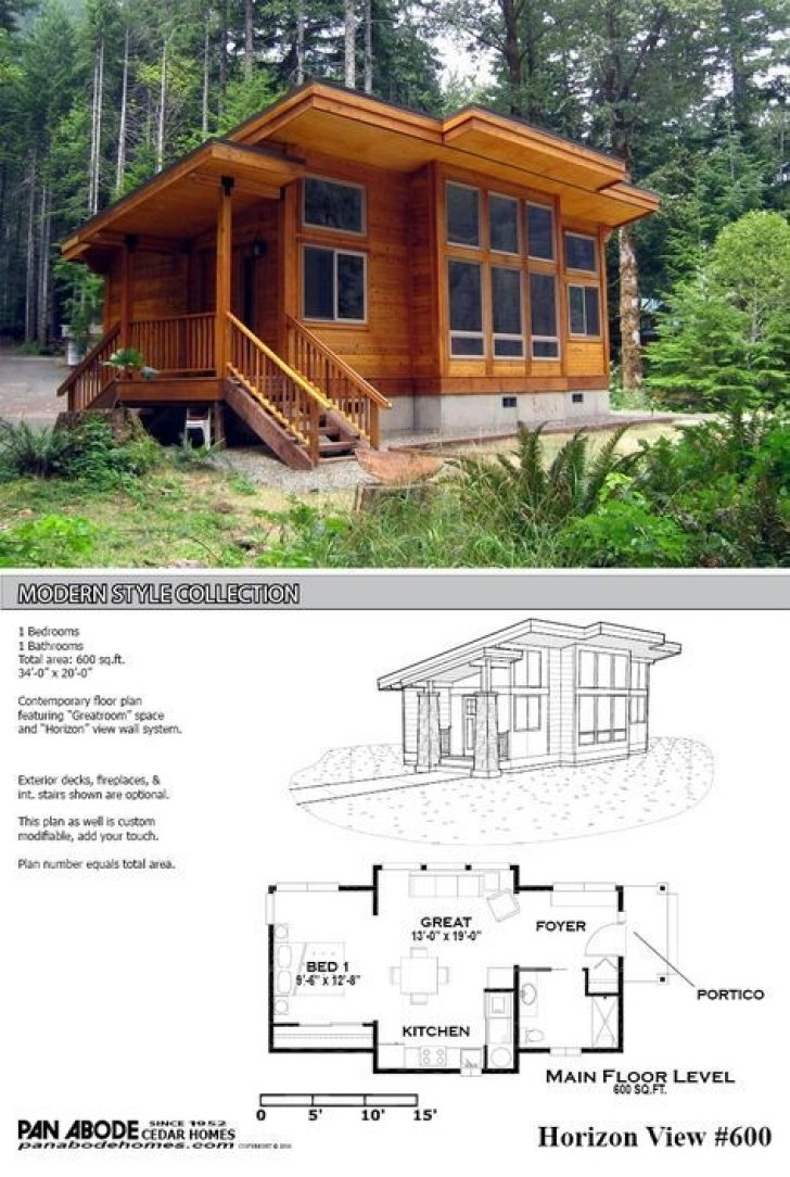 Permalink to Minimalist 600 Square Foot Log Cabin Gallery