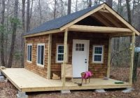 this is how to build your own tiny cabin and youre invited Projects Small Cabin Plans