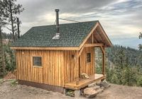 this is the only type of siding my grandfather will let us Small Hunting Cabin Plans