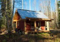 this post and beam cabin proves you can do a lot with a Small Post And Beam Cabins