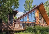 this remote canadian log cabin is off grid goals Canadian Log Cabin