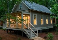 this the 1091 sq ft camp callaway cottage its built Amazing Small House Cabin Plans Designs