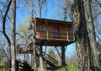 this treehouse in oklahoma will give you an unforgettable Arbuckle Wilderness Cabins