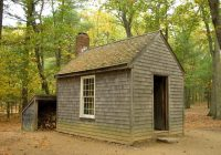 thoreaus cabin walden pond this is a reconstruction of t Henry David Thoreau Cabin