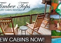 timber tops pigeon forge cabin rentals pigeonforge Timber Tops Cabins