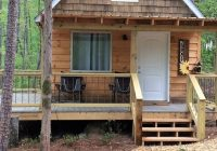 tiny house on shared pond near lake hartwell the bo cabin reed creek The Cabins Lake Hartwell