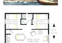tiny houses floor plans free small cabin under 500 square Small Cabin Plans With Loft Free