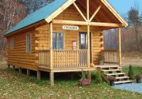 tiny log cabin kits easy diy project craft mart Rustic Cabin Kit