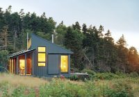 tiny off grid cabin in maine is completely self sustaining Offgrid Cabin